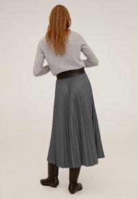 Mango - WOOLY - A-line skirt - grau - 2