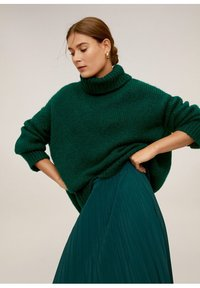 Mango - ANGELA - Pleated skirt - green - 3