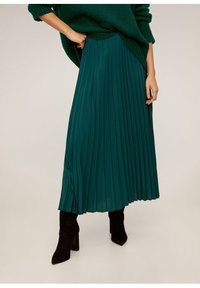 Mango - ANGELA - Pleated skirt - green - 0