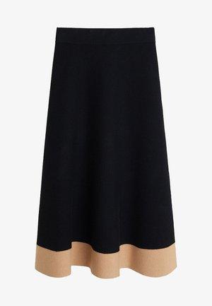FLEARYS - A-line skirt - schwarz
