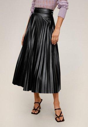 GRETA - A-line skirt - schwarz
