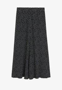 Mango - BOMBAY - A-line skirt - zwart - 4