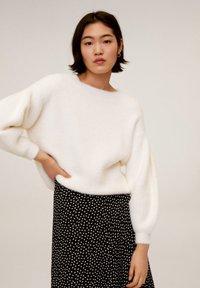 Mango - BOMBAY - A-line skirt - zwart - 3