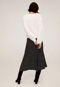 Mango - BOMBAY - A-line skirt - zwart - 2