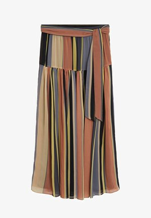 EMPIRE - Pleated skirt - rosa