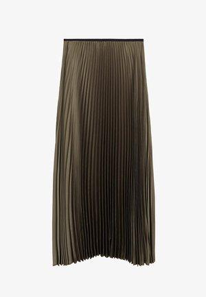 PLISADO - Spódnica plisowana - khaki