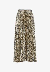 Mango - PLISADO - Pleated skirt - schwarz - 3