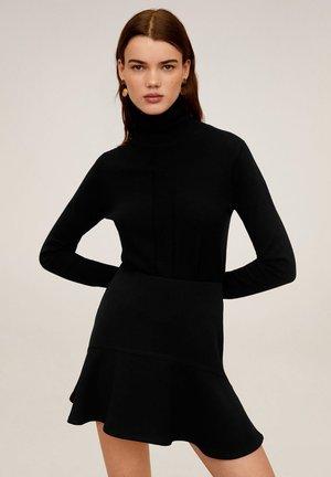 AMELIE - A-line skirt - black