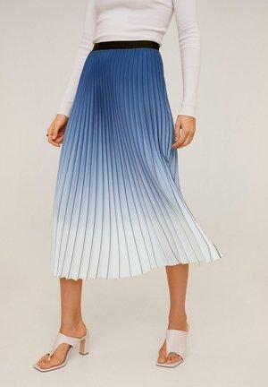 BLAVI - A-line skirt - blau
