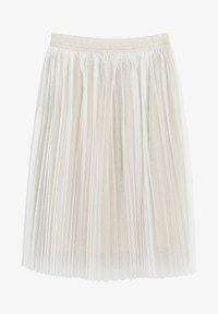 Mango - FATI - Pleated skirt - gold - 0