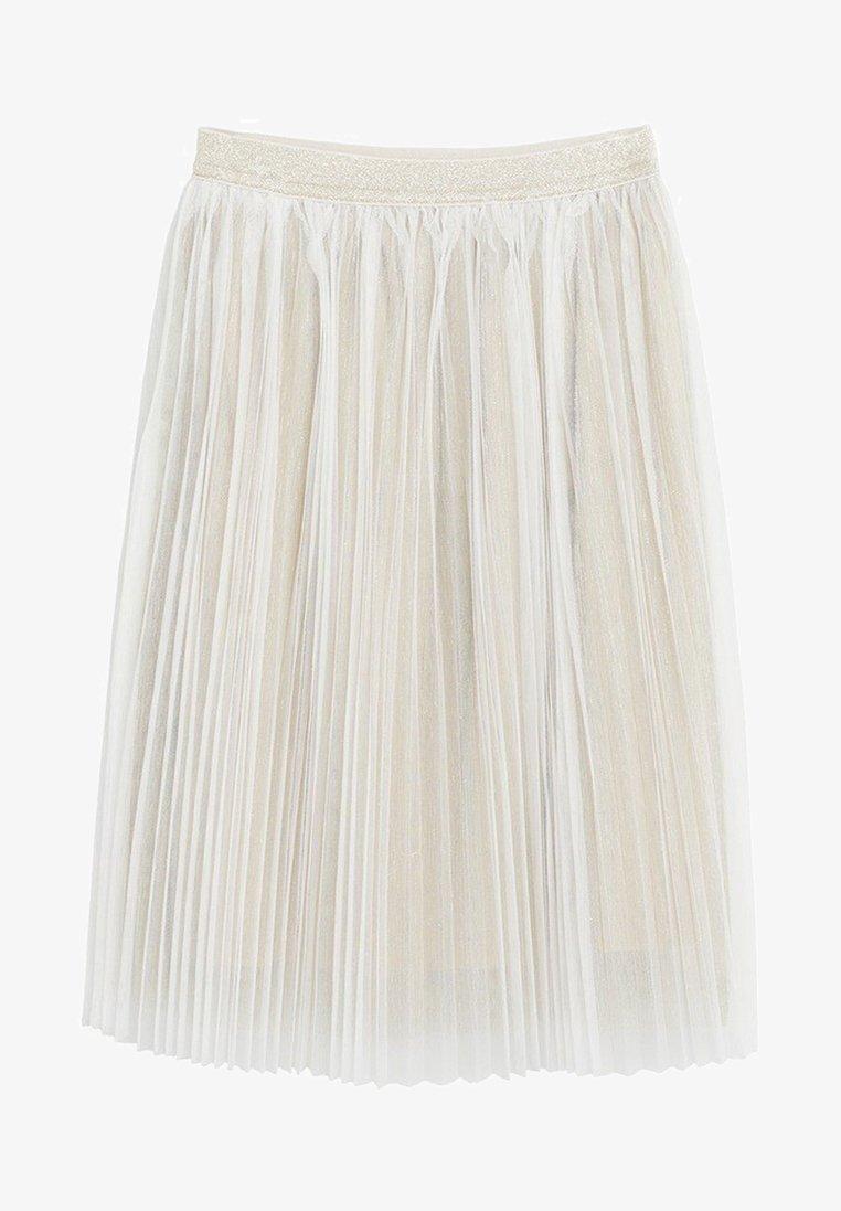 Mango - FATI - Pleated skirt - gold