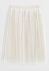 Mango - FATI - Pleated skirt - gold - 1