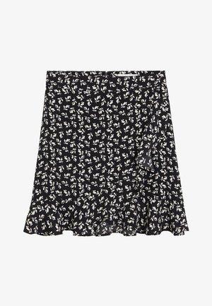 DELHI - A-line skirt - schwarz