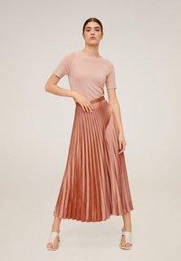 Mango - GOLDIE6 - A-line skirt - rosa - 1