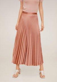 Mango - GOLDIE6 - A-line skirt - rosa - 0