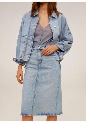 VALERIA - Jupe en jean - hellblau