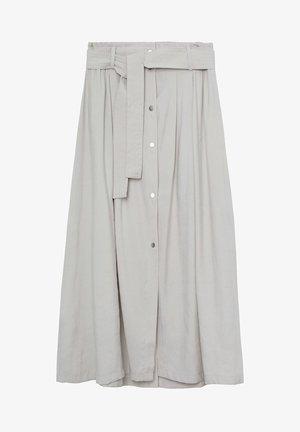 BOWIE - Spódnica trapezowa - gris clair/pastel