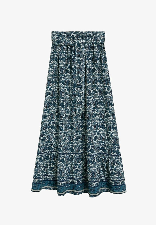 DOHA - Spódnica trapezowa - blau