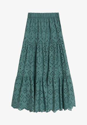 TEO - A-line skirt - verde agua