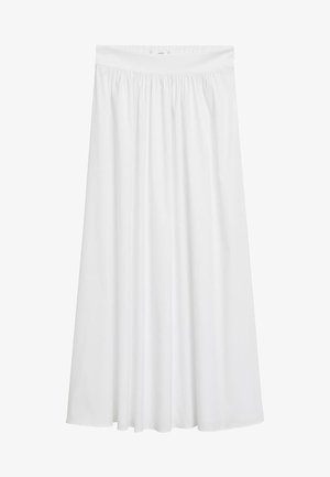 ELNA - A-line skirt - blanc