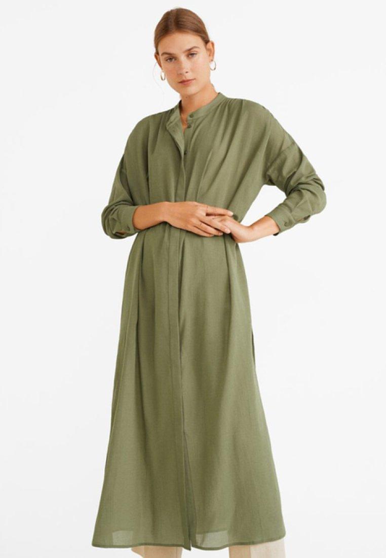 Mango - BEREBER - Blusenkleid - khaki