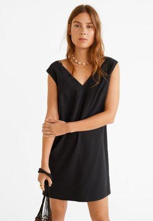 TIKA - Korte jurk - black
