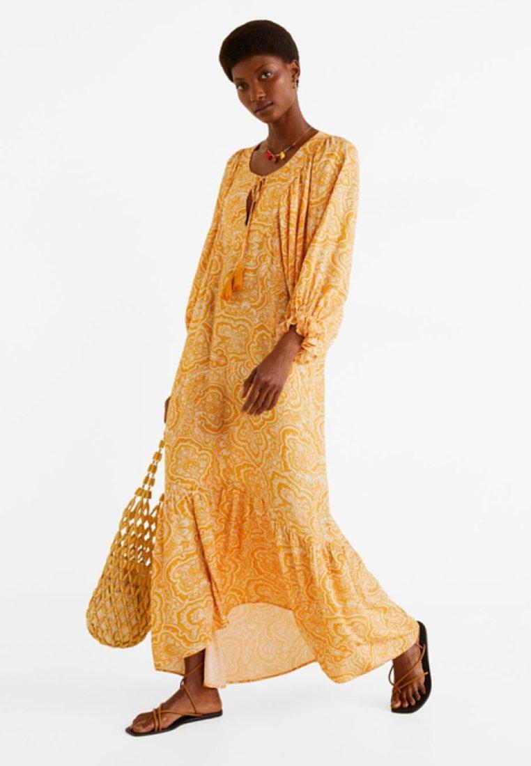 Mango - CORN - Maxi dress - orange