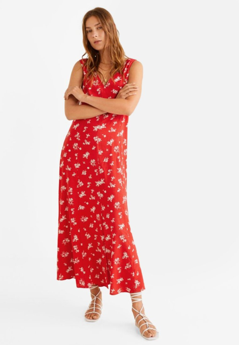 Mango - ONA - Maxi dress - red