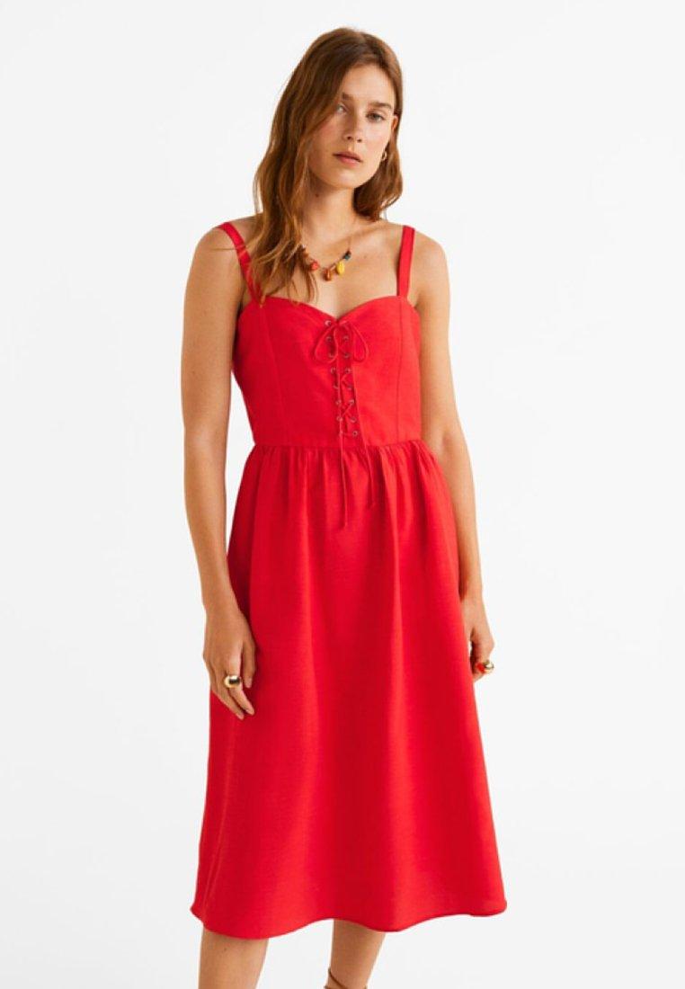 Mango - FAME - Day dress - red