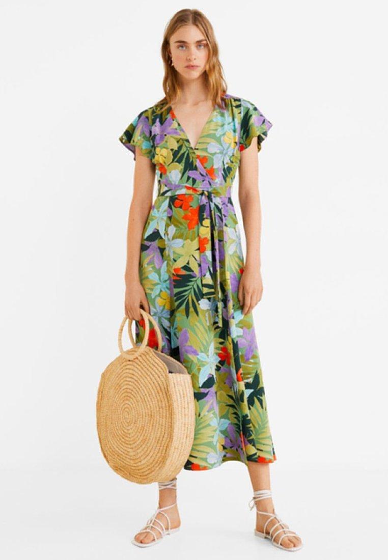 Mango - HAWAI - Maxi dress - green
