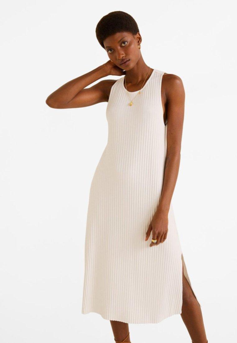 Mango - CANAL - Jumper dress - off-white
