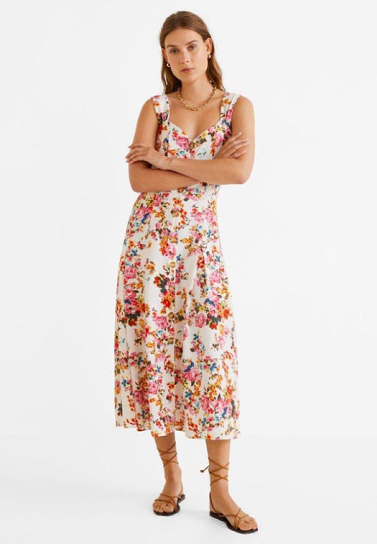 Mango - LOVE - Maxi dress - ecru