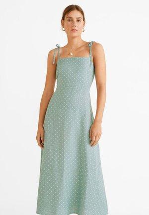 AGNES - Robe longue - water green
