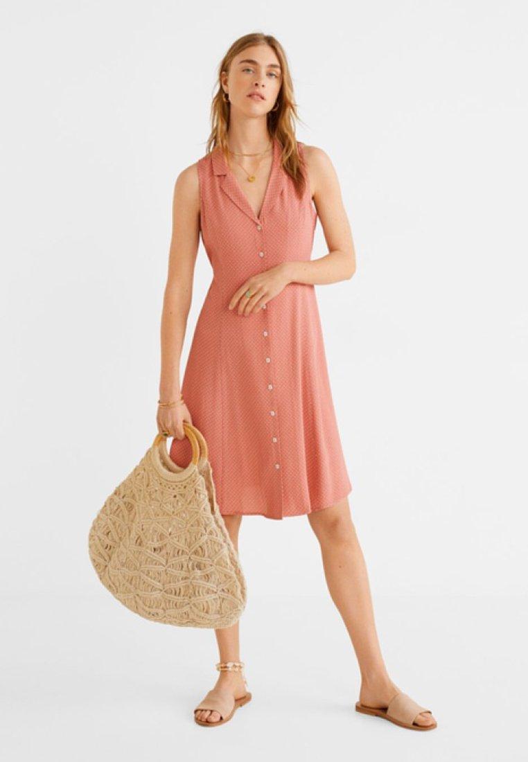 Mango - ALYSA - Blusenkleid - pastel pink