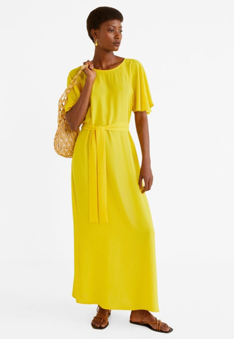 Mango - ARIBAU-A - Maxikleid - yellow