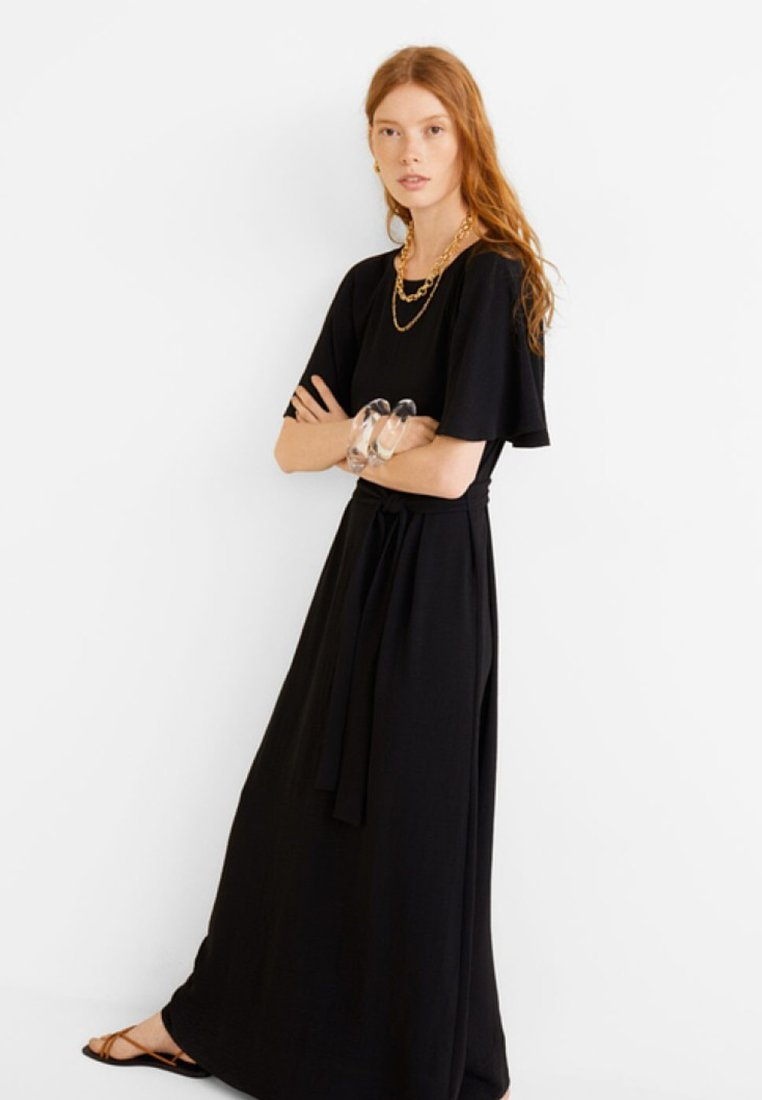 Mango - ARIBAU-A - Maxi dress - black