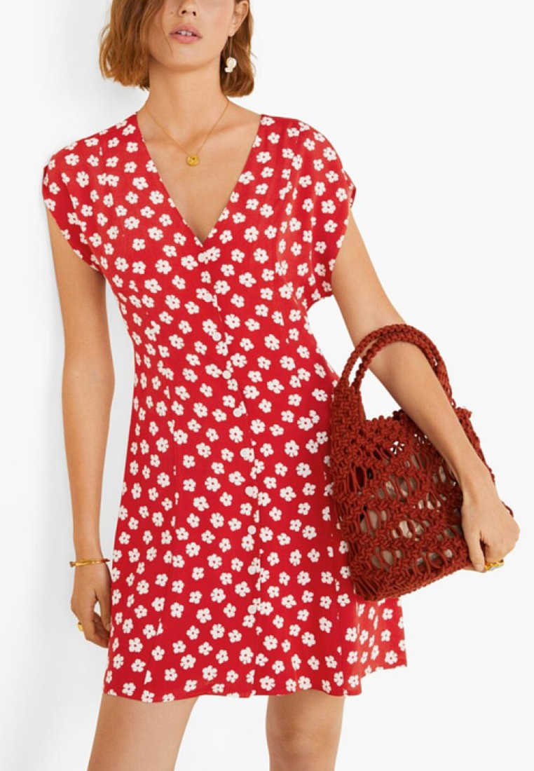 Mango - SERENA - Day dress - red