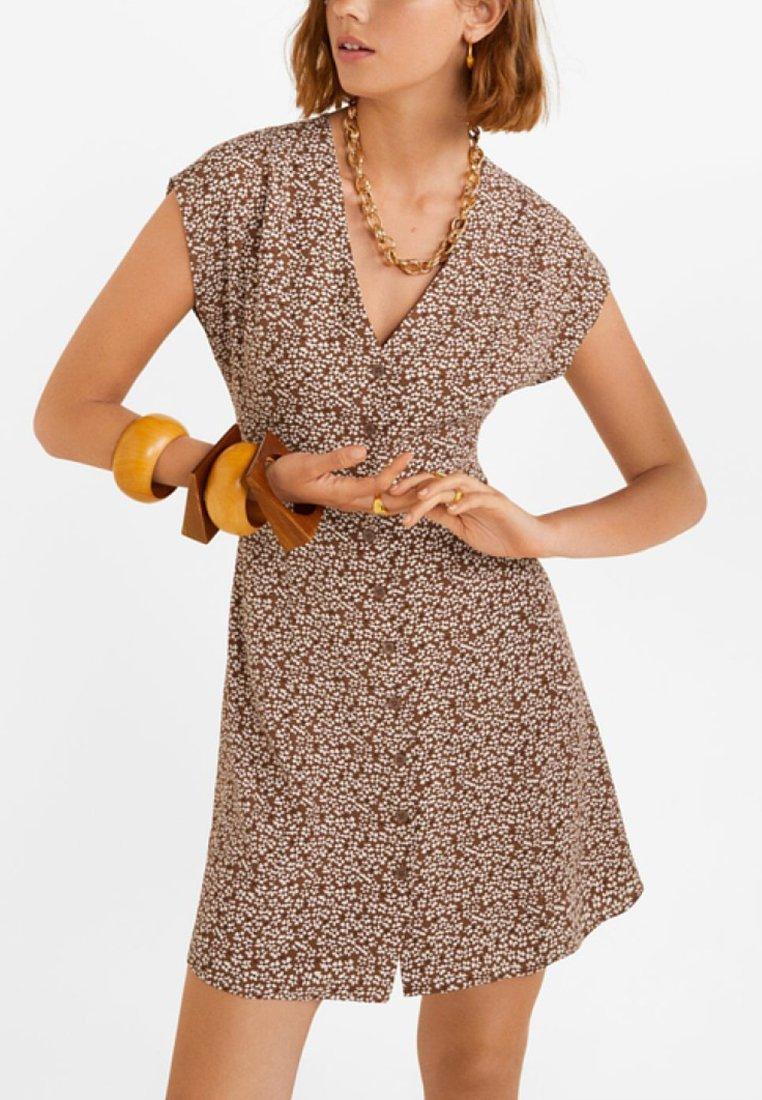 Mango - SERENA - Freizeitkleid - brown