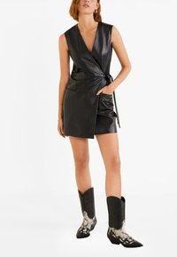 Mango - MELISA - Day dress - black - 1