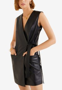Mango - MELISA - Day dress - black - 0