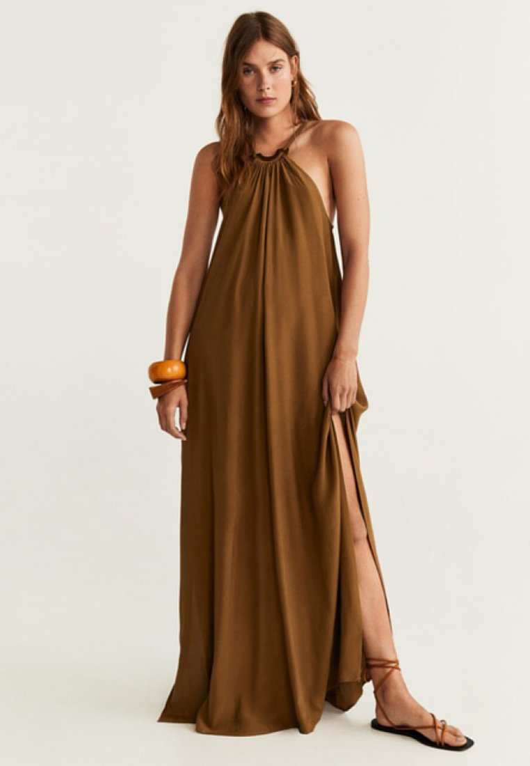 Mango - WEST - Maxi-jurk - brown