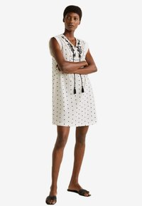 Mango - DOTY - Robe d'été - off-white - 1