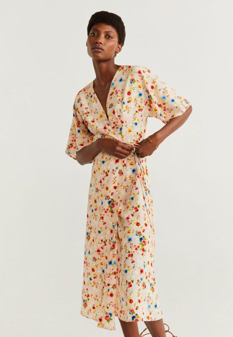 Mango - ACQUA - Maxi dress - ecru