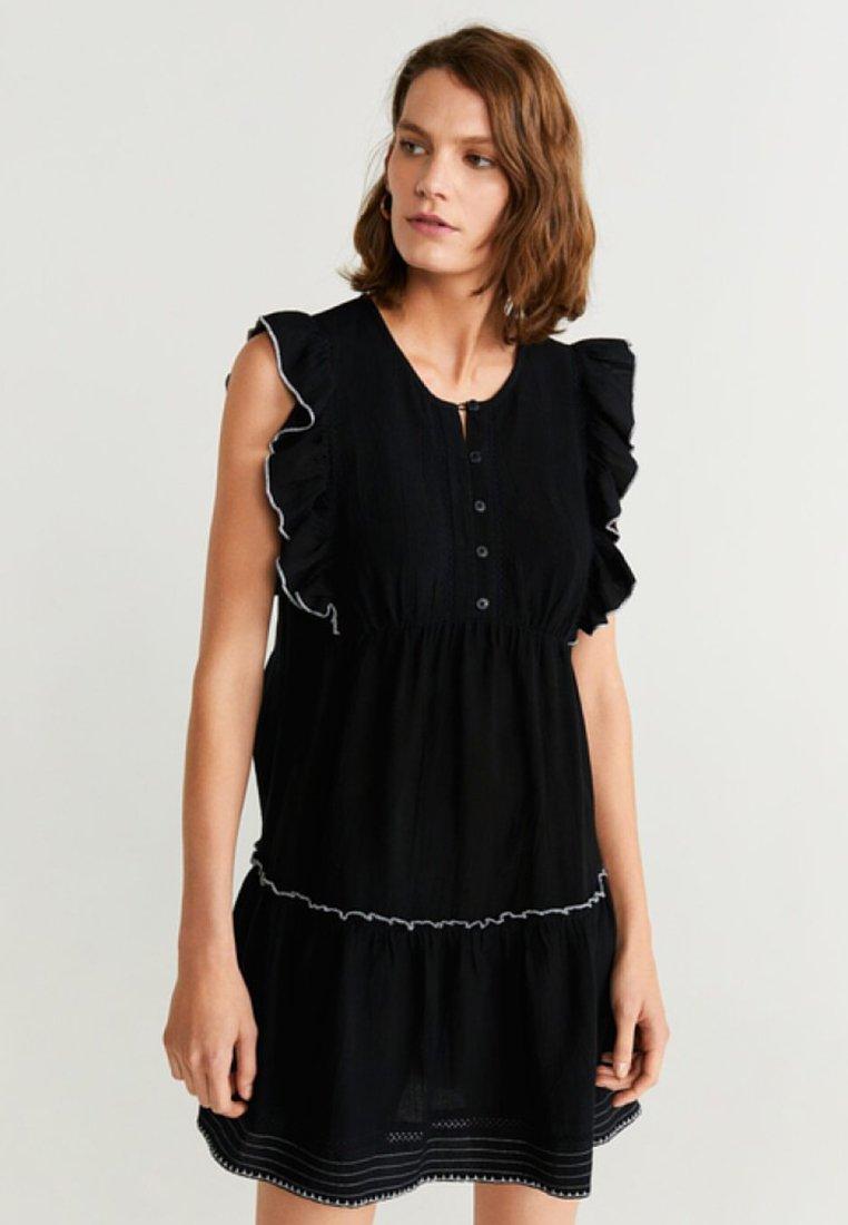 Mango - PEPPER - Day dress - black