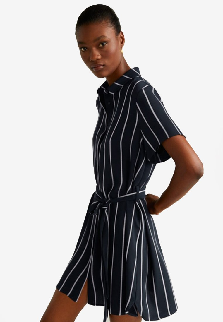 Mango - ZANE - Shirt dress - blue marine