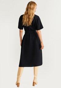 Mango - Robe chemise - black - 2