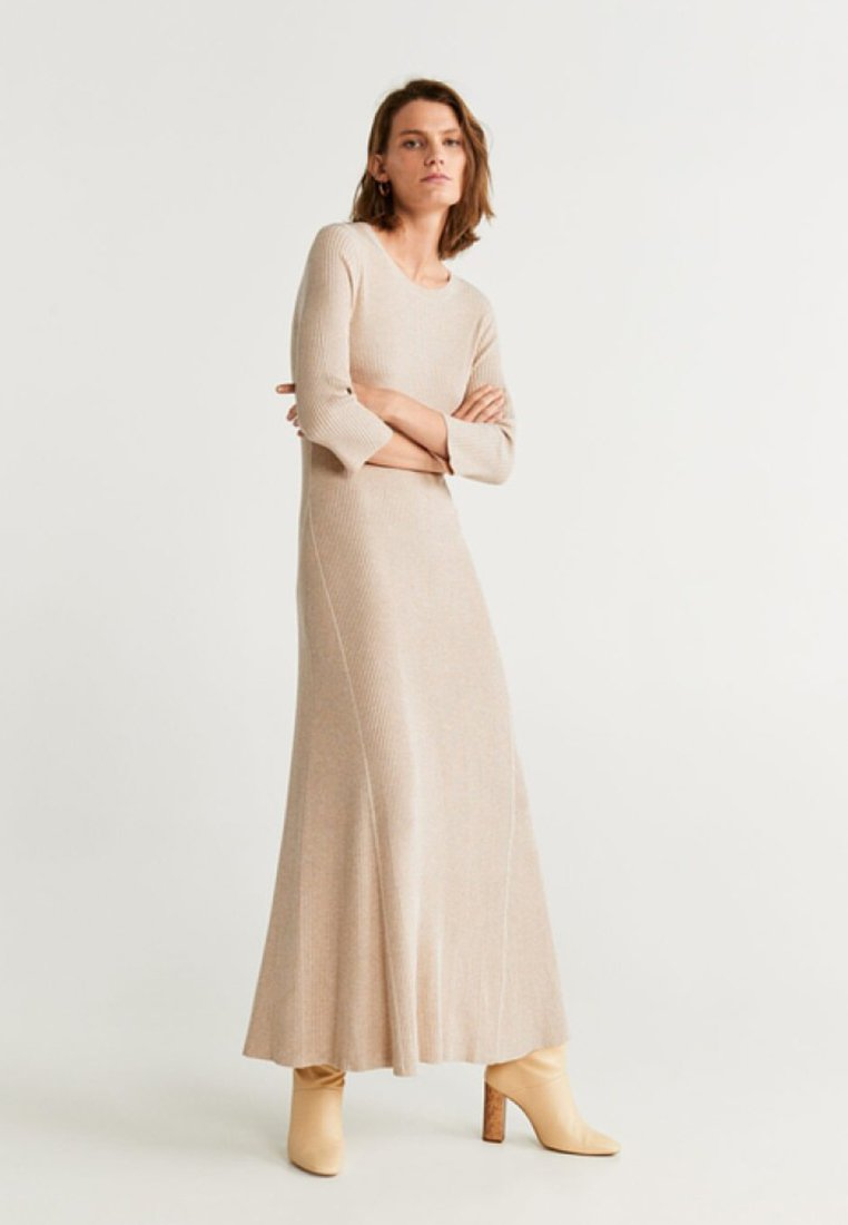 Mango - GODO - Maxikleid - light grey / pastel