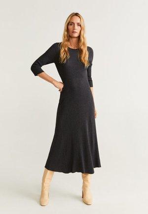 GODO - Maxi dress - anthracite
