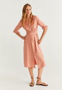 Mango - LACY - Vapaa-ajan mekko - pink - 1