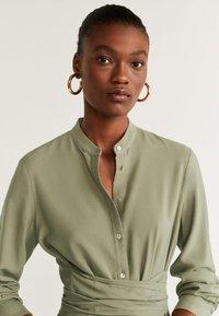 Mango - LACY - Day dress - khaki - 2